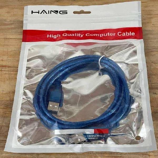 Cable usb macho a usb macho 1.5mts