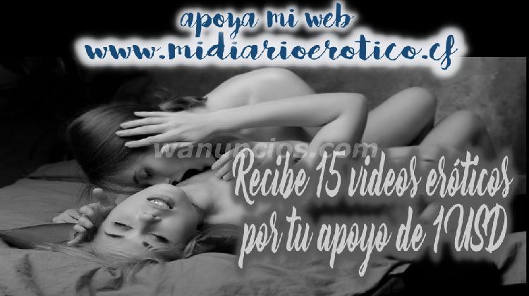 15 videos eróticos por apoyar mi sitio web