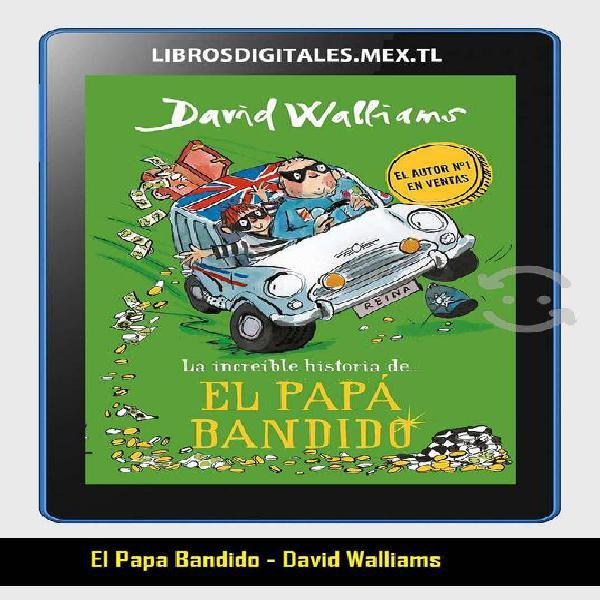 LIBRO: El Papa Bandido - David Walliams