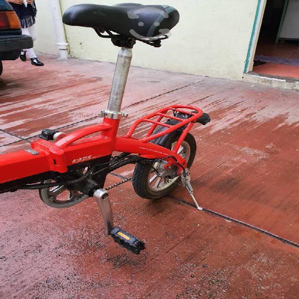Bicicleta electrica plegable enda