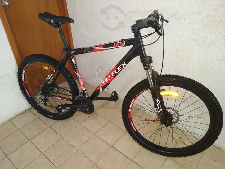 Bicicleta profllex aluminio r26 frenos de disco