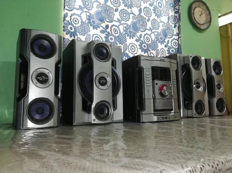 Potente estéreo sony genezi hi-fi... funcionando