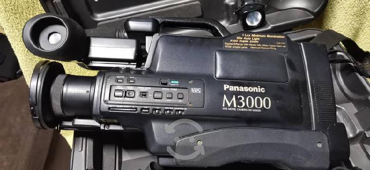 Videocámara panasonic vhs modelo m3000