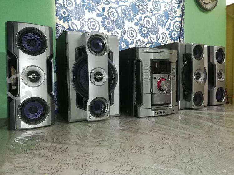 Sony genezi hi-fi toca cd-mp3..
