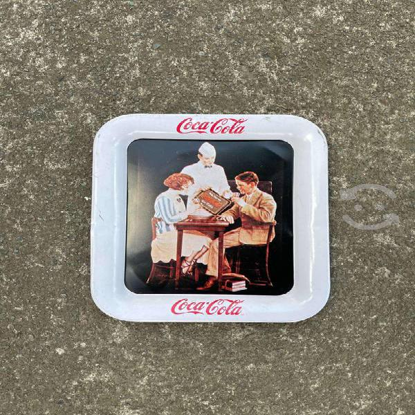 Charola coca cola mini antigua
