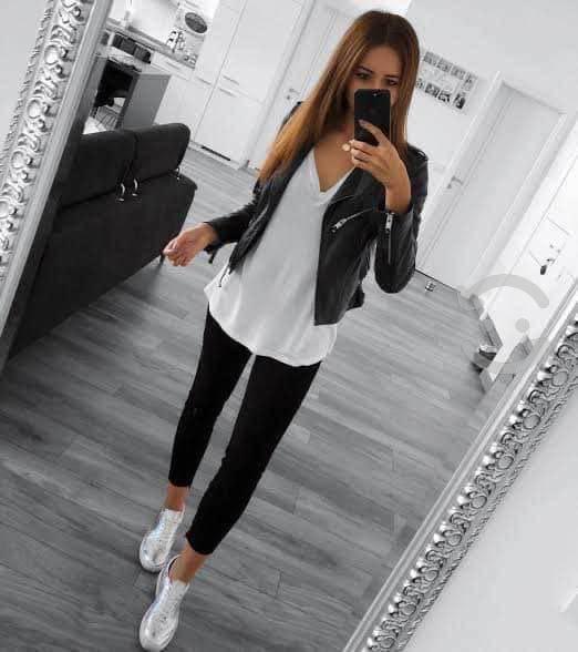 Pantalón h&m negro
