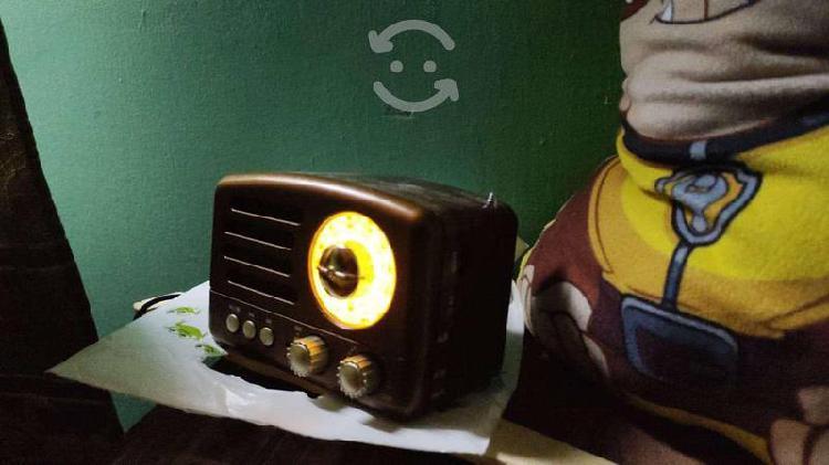 Radio am fm bateria recargable