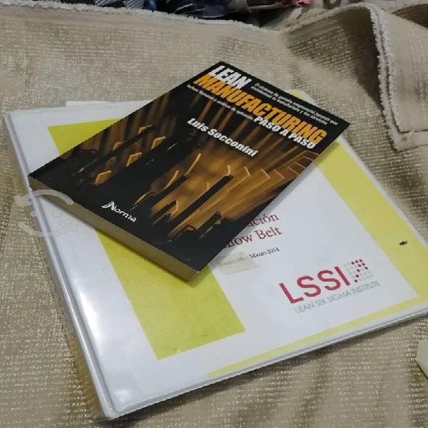 Curso certificacion yellow belt lean manufacturing