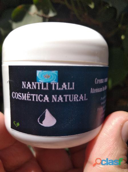 Crema anti edad natural