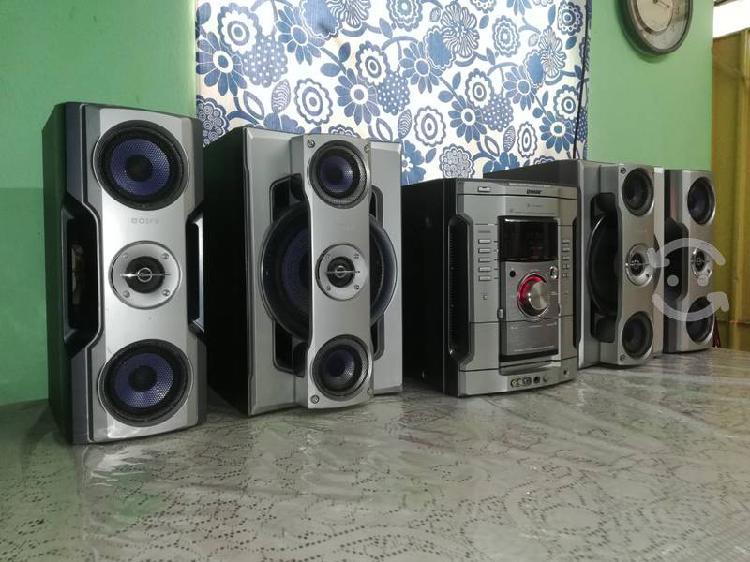 Potente estéreo sony hi-fi mod. mhc-gn800