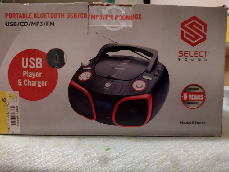 Radio grabadora bluetooth usb,cd,mp3,fm