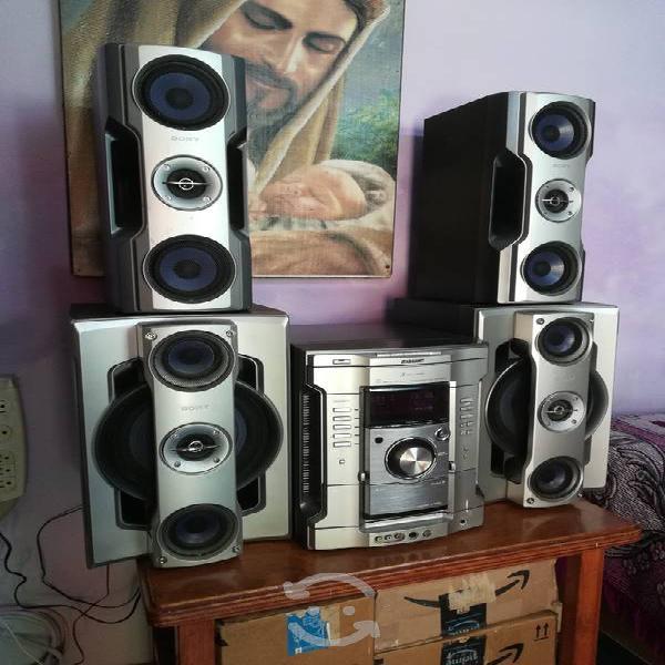 Sony genezi hi-fi con cd-mp3