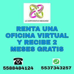 Obten en renta oficina virtual a buen precio y buen servicio