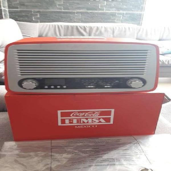 Radios coca cola retro bateria recargable nuevos.
