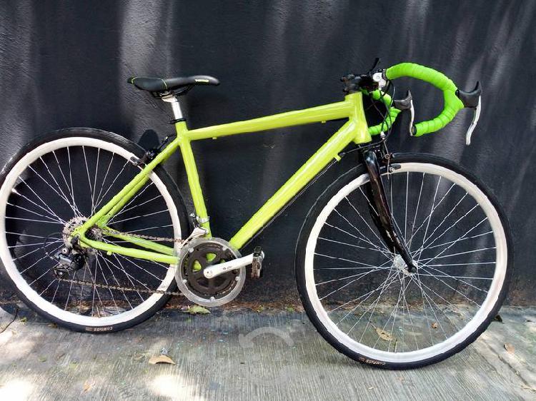 Bicicleta ruta de aluminio r-700