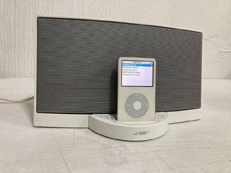 Bose sounddock 1 + ipod classic 60 gb