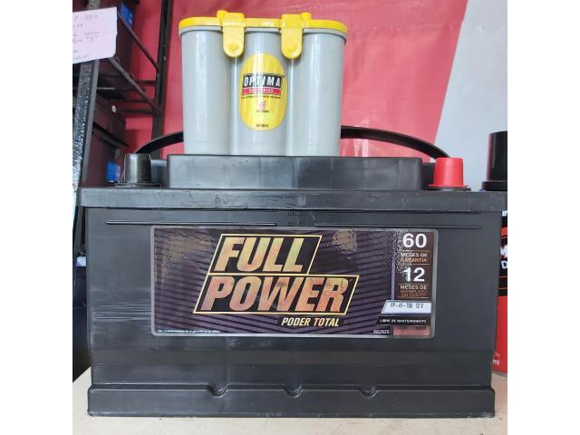 Bateria Full Power 41 - 750 Iztapalapa