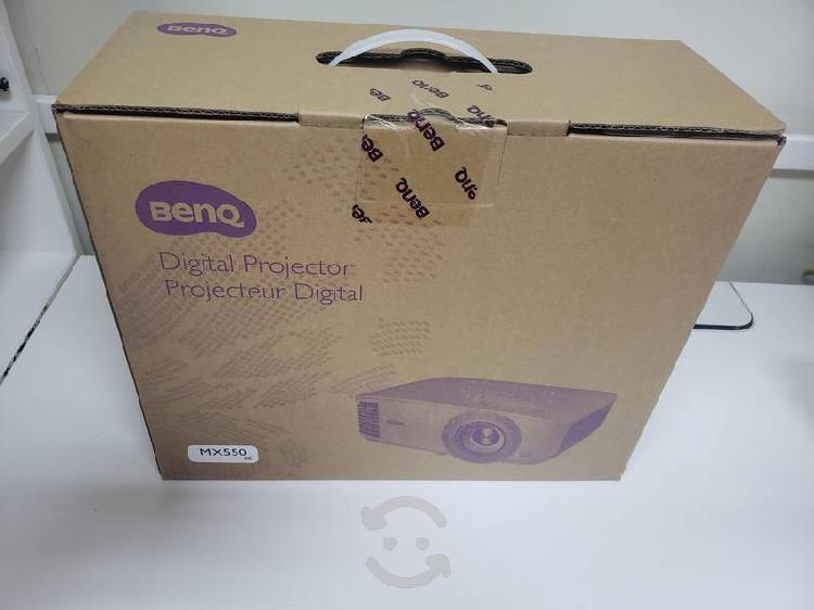 Proyector portátil benq mx550 dlp, xga 1024 x 768