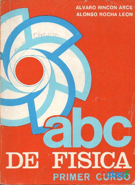 Libro ABC de Física, Primer Curso, 11ª edición, 1989.