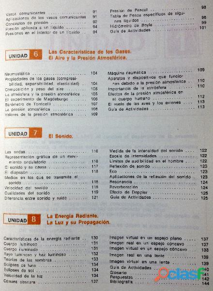 Libro ABC de Física, Primer Curso, 11ª edición, 1989. 5