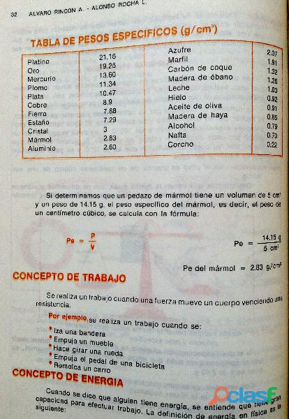 Libro ABC de Física, Primer Curso, 11ª edición, 1989. 4