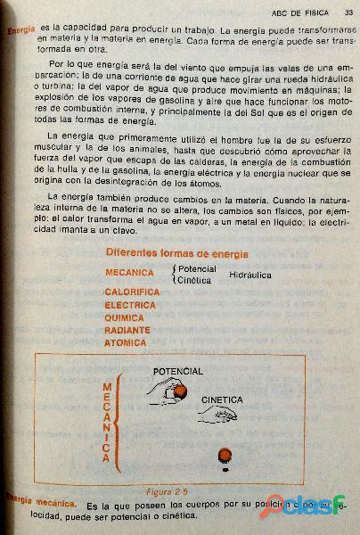 Libro ABC de Física, Primer Curso, 11ª edición, 1989. 3