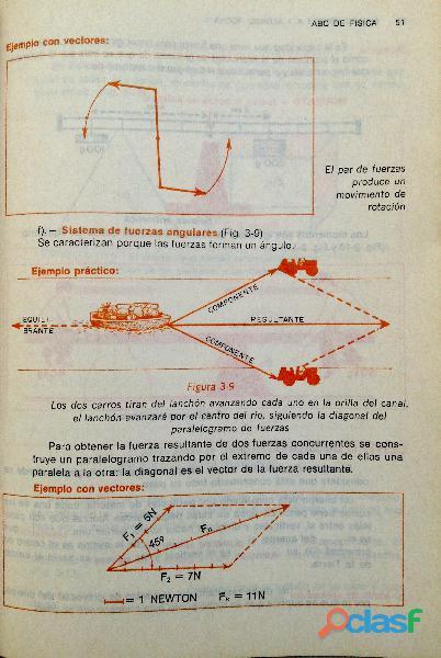 Libro ABC de Física, Primer Curso, 11ª edición, 1989. 2