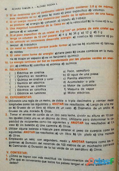 Libro ABC de Física, Primer Curso, 11ª edición, 1989. 7