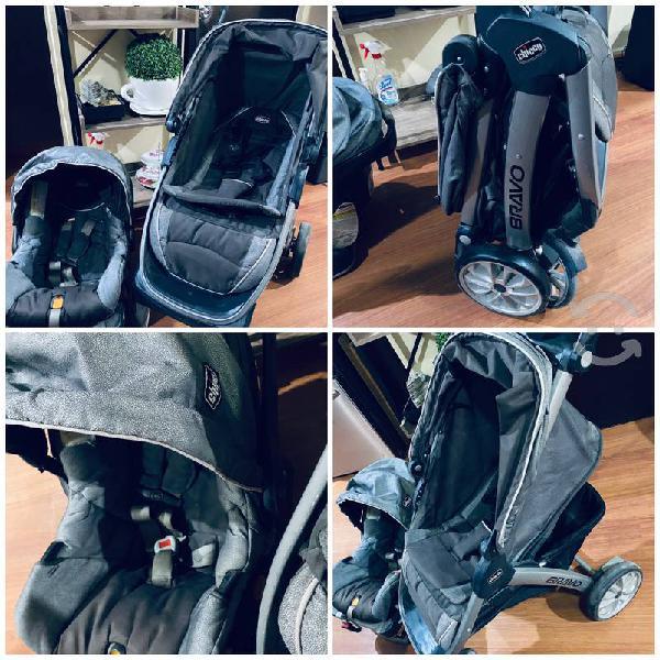 Remató carreola silla de carro y porta bebe chicco