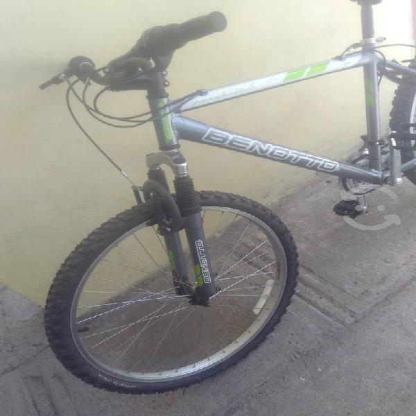 Bicicleta benotto aluminio