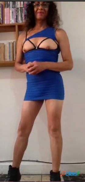 Transexual CDMX busco amantes, cómplices sexuales.