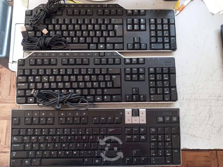 3 teclados marca dell funcionaless