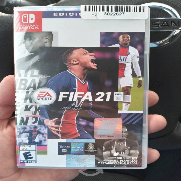 EA Sports Fifa 21 Nintendo Switch Edicion Legado