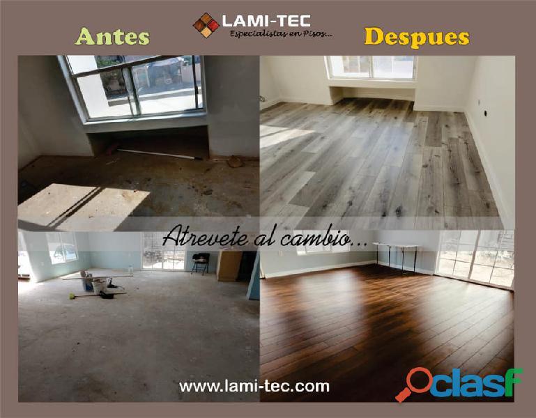 Gran variedad de pisos laminados a muy buen precio