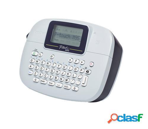 Brother rotulador pt-m95, transferencia térmica, 203 x 203 dpi, blanco