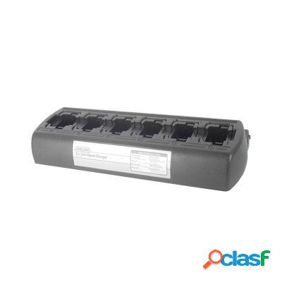 Power products cargador de bateria pp-6c-ksc25, 6 baterías, 100 - 240v, para kenwood