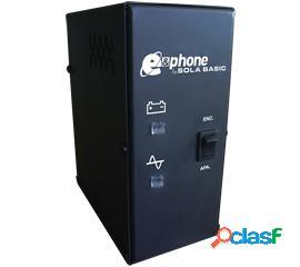 No break industrias sola basic e&phone, 25w, 50va, entrada 99-140v, salida 127v