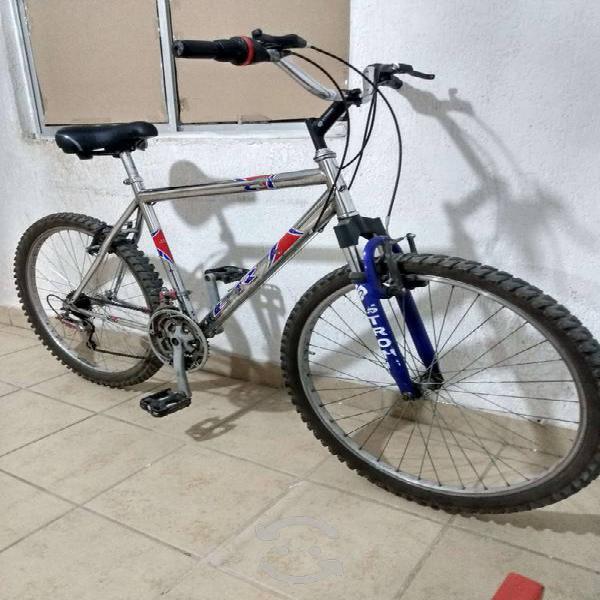 Bicicleta montañana.