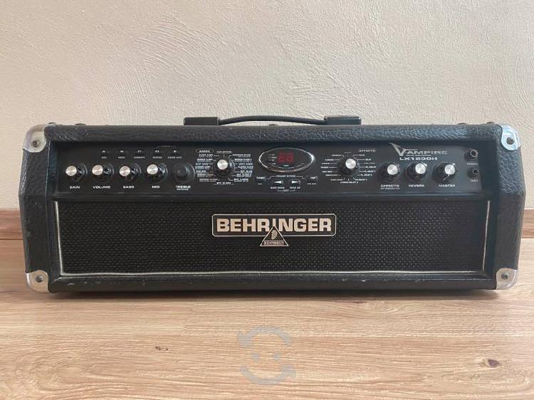 Cabezal de guitarra behringer lx1200h
