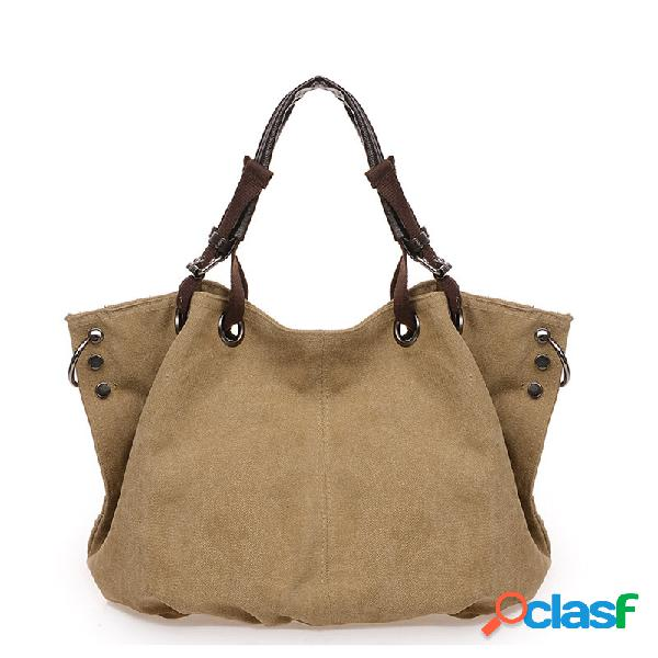 Mujer bolso de mano de gran capacidad bolsa messenger bolsa