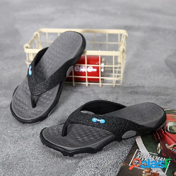 Hombre al aire libre casual con puntera con clip antideslizante zapatillas