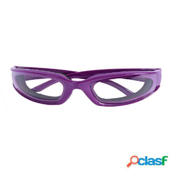 Mujer hombre cebolla gafas de seguridad para barbacoa gafas protector de ojos protectores faciales cocina gafas