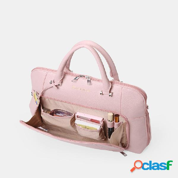 Mujer diseño bolso sólido multifunción business crossbody bolsa