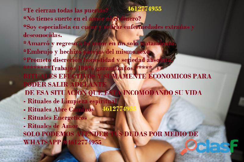AMARRE SEXUAL, RETORNO DE PAREJA Y MUCHO MAS 0123