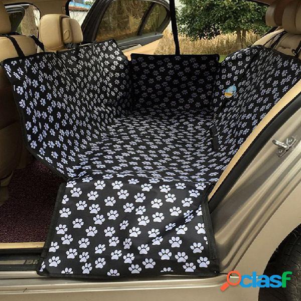130 * 150 * 55cm pet coche funda de asiento perro alfombrilla de seguridad cojín protector de asiento trasero trasero hamaca