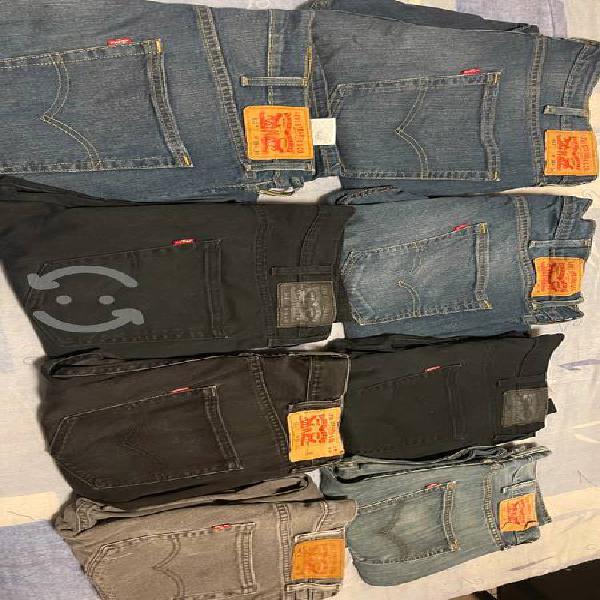 Lote de 8 pantalones levis originales