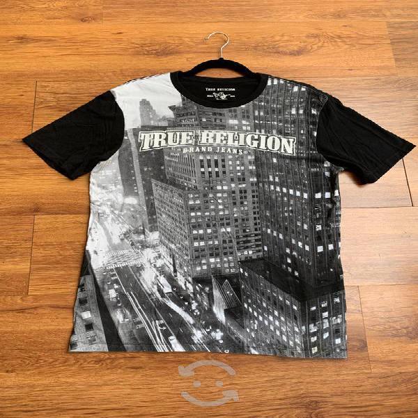 Playera true religion original (caballero)