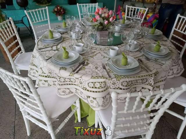 Alquiladora de mesas tifany