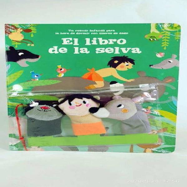 El libro de la selva 3 titeres de dedo yoyobooks