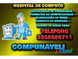REPARACION DE COMPUTADORAS HP NAUCALPAN